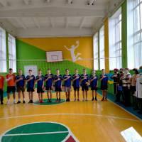 Товариська зустріч з волейболу, лютий 2021