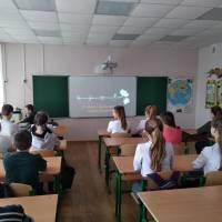 Година – спогад «Голокост – трагедія і героїзм» у 7 класі.