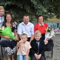 сім'я Ворнової Анастасії Миколаївни та Світлани Володимирівни с.Вільне