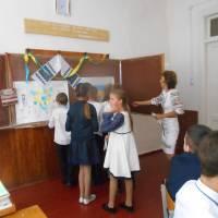Перший урок у навчальному році в Іршанській школі