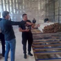 Роботи в спортзалі Іршанської ЗОШ