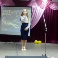 Співає Юлія Лукашишина (Чижівська ЗОШ І - ІІІ ступенів)