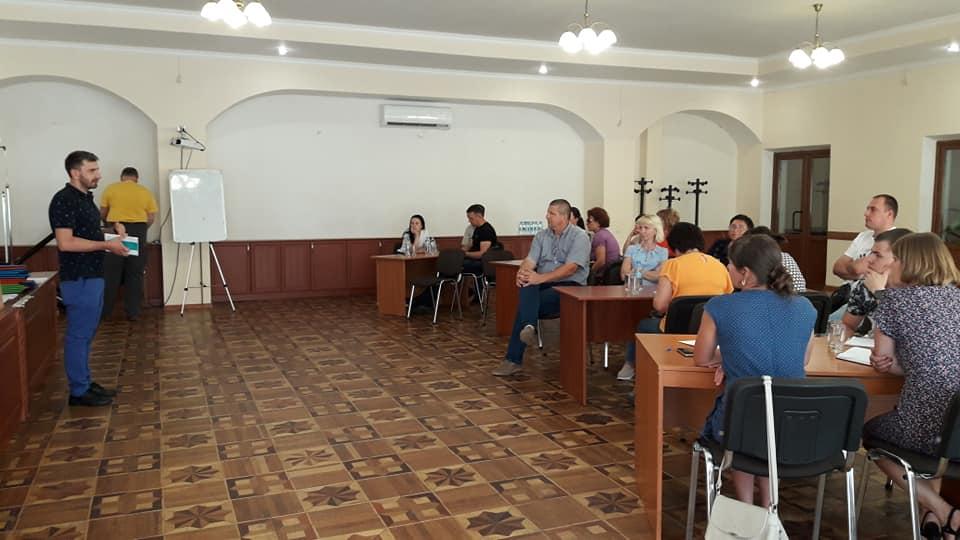 """Перший день тренінгу в рамках програми """"Успішні локальні громади"""" в Житомирській області."""