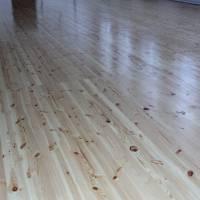 Підлога спортзалу гімназії (дерев'яний брус)