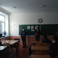 Учні 9-А класу Іршанського ліцею - розповідають про події на Грушевського