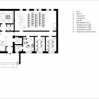 План зонування та дизайну Молодіжного центру