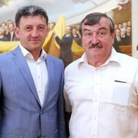 Народний депутат Дзюблик П.В. та голова громади Рудюк Г.Л