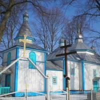 Хресто-Воздвиженська церква в с. Камяний Брід(пам'ятка архітектури)