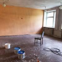 Підготовка нового приміщення сільської ради у селі Бейзимівка