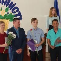 Рогов Ілля з батьками