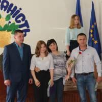 Дяченко Дарина (перемога у Всеукраїнському конкурсі екскурсоводів) з батьками