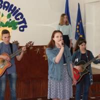 Виступ вокальної групи Миропільської школи мистецтв