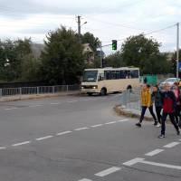 Встановлення світофора у селищі Гришківці