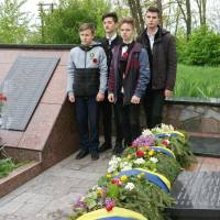 8 травня  відбувся мітинг-реквієм з нагоди  відзначення Дня пам'яті та примирення, Дня перемоги над нацизмом у Другій світовій війні