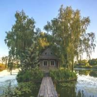 Будиночок на воді, Солотвин