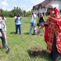 Будівництво лікарської амбулаторії в селищі Гришківці