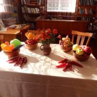 «Виготовлення декоративних елементів з овочів».
