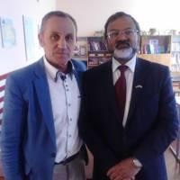 Візит посла Індії в Україні
