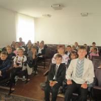 Учні, присутні на зустрічі