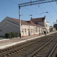 Залізничний вокзал смт. Попільні