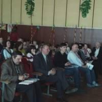 запрошені гості-учасники семінару на чолі з Мельничуком Ю.Л.(на передньому плані другий зліва)