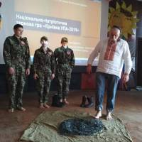 Майстер-клас від Опанащука В.С. - наказного Верховного Отамана Українського козацтва