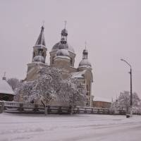 Свято-миколаївська церква в смт. Попільня 2