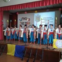 Вітання ОНЗ Квітнева ЗОШ І - ІІІ ст.  вокальна група Козачата