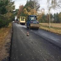 В Ушомирській громаді ремонтують дорогу за кошти від збору митних платежів