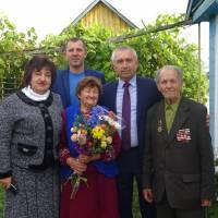 Привітання ветеранів  з Днем Партизанської слави
