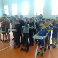 Турнір з волейболу юнаків Ушомирської ОТГ присвяченого пам