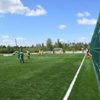 відкриття міні футбольного поля з штучним покриттям с.Гулянка