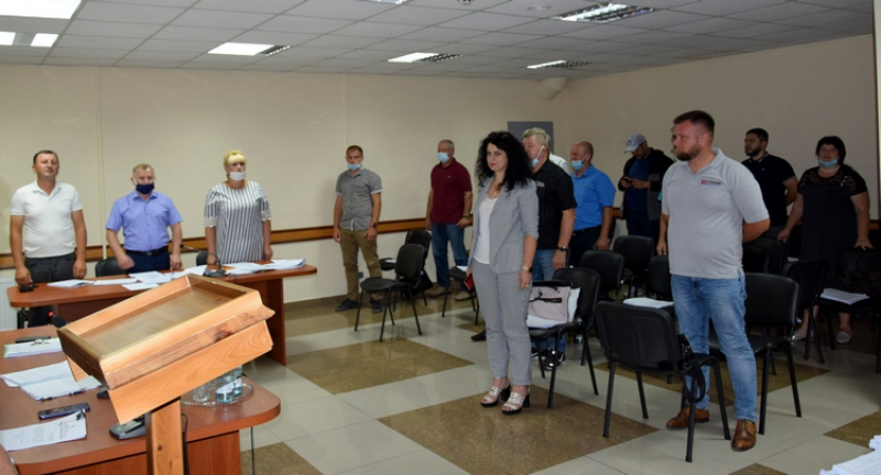 Відбулося засідання 36-ї сесії Оліївської сільської ради