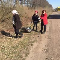 Як в Оліївській ОТГ проходив місячник «За чисте довкілля» (квітень 2019 р.)