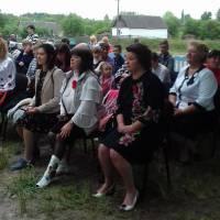 Відзначення Дня пам'яті та примирення і 73-ї річниці Перемоги над нацизмом у Другій світовій війні - село Кам'янка