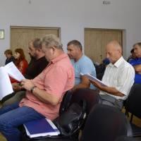 Засідання виконкому Оліївської сільської ради. 29 серпня 2018 року.