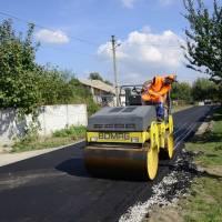 Капітальний ремонт вулиці Молодіжної у селі Оліївка. 14 вересня 2018 року.