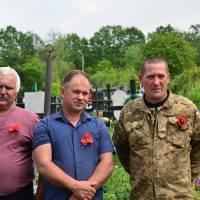 Відзначення Дня пам'яті та примирення і 73-ї річниці Перемоги над нацизмом у Другій світовій війні - село Піщанка