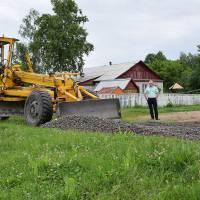 Будівництво стадіону в Троковичах (червень 2019 р.)
