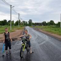 Ремонт доріг у Троковичах (червень 2019 р.)