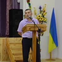 5   сесія  VІІ скликання    Оліївської  сільської  ради: виступає Г.В. Горбенко, головний лікар Центру надання первинної медико-санітарної допомоги Жи