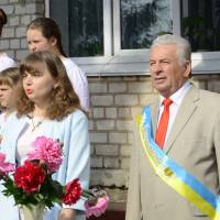 Святкування останнього дзвоника – школа села Оліївка