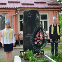 Відзначення Дня пам'яті та примирення і 73-ї річниці Перемоги над нацизмом у Другій світовій війні - село Світин