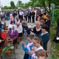 Відзначення Дня пам'яті та примирення і 73-ї річниці Перемоги над нацизмом у Другій світовій війні - село Троковичі
