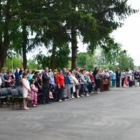 Відзначення Дня пам'яті та примирення і 73-ї річниці Перемоги над нацизмом у Другій світовій війні - село Оліївка