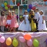 Святкування останнього дзвоника – дитячий садок села Некраші