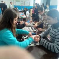Шкільні змагання з шашок (листопад 2018 р.)