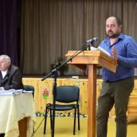 Василь Городнюк розповідає про програму підтримки індивідуального житлового будівництва на селі «Власний дім» (засідання четвертої сесії сьомого склик
