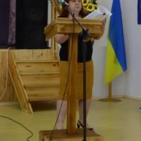 5   сесія  VІІ скликання    Оліївської  сільської  ради: виступає Примачук Л.В.,  начальник загального відділу Оліївської сільської ради.