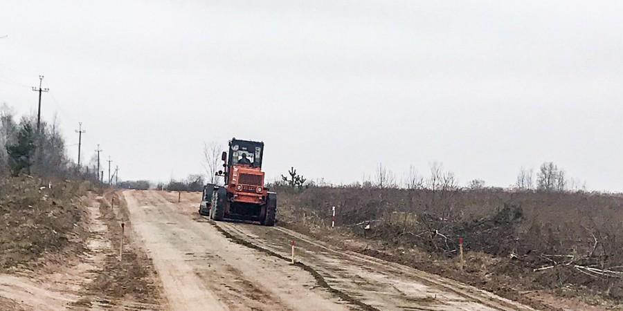 Розпочато ремонт дороги Кам'янка-Вільськ